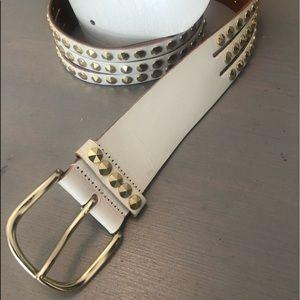 Linea Pelle Brass buckle belt 🌟